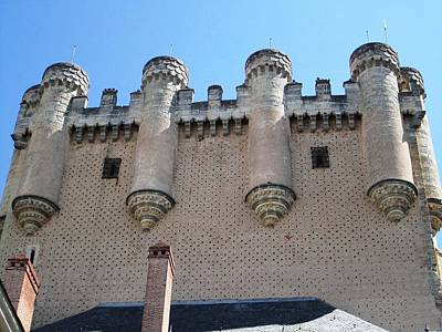 Photograph - Segovia Castle Architecture And Design In Spain by John Shiron