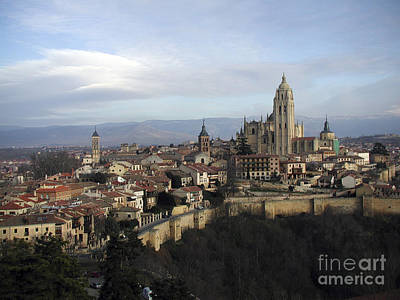 Print featuring the photograph Segovia by Leslie Hunziker