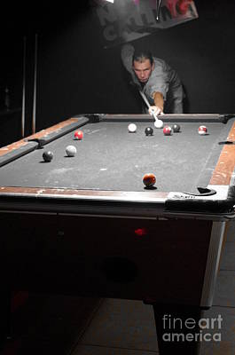 Photograph - Selective Billiards by Lynda Dawson-Youngclaus