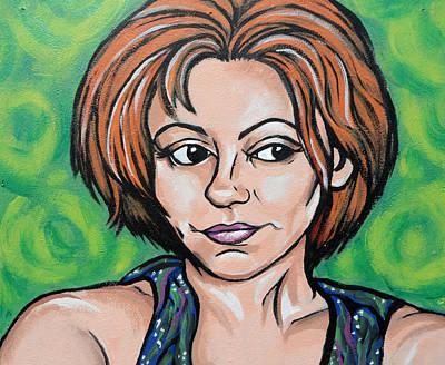 Painting - Self 2011 by Sarah Crumpler