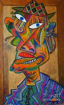 Self View Painting - Self-portrait - Phenomenon by Oleg Aseev