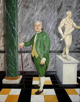 Self Portrait As A French Republican Art Print by Howard Bosler