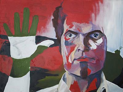 Change Painting - Self Portrait Entropy by Tyler Auman