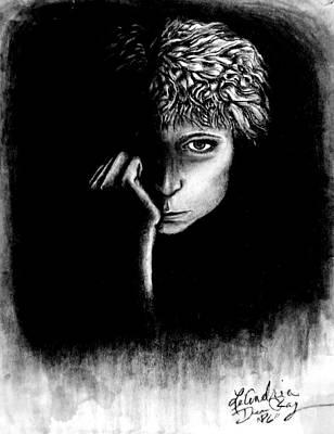 self portrait I Art Print