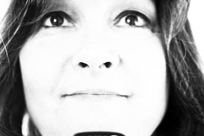 Photograph - Self Portrait In Black And White by Marie Jamieson
