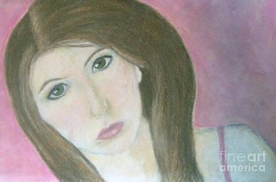 Mystique Drawing - Self Portrait by Jana Barros