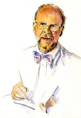 Painting - Self Portrait by John D Benson