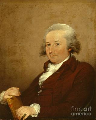 Self-portrait Art Print by John Trumbull