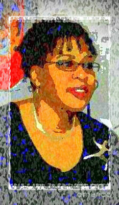 Photograph - Self-portrait Of A Colorful Soul by Angela L Walker