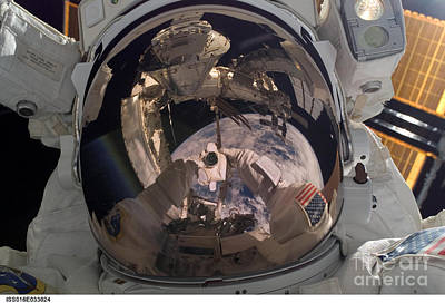 Self Portrait Photograph - Self-portrait Of Astronaut Robert by Nasa