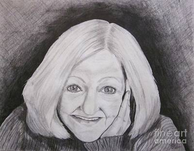Drawing - Self-portrait Paje by Patsy Gunn