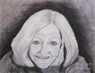 Self-portrait Paje Art Print