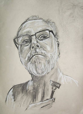 Self Portrait Art Print by Peter Edward Green