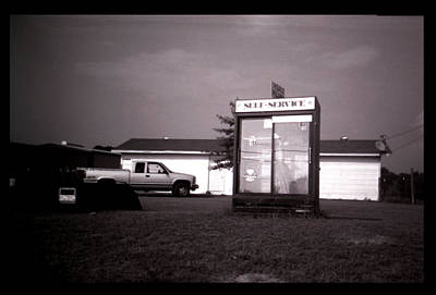 Photograph - Self Service- Winnsboro Road- La Hwy 15 by Doug Duffey