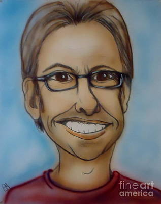 Caricature Drawing - Selfish by Pete Maier