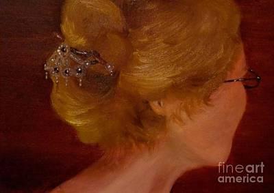 Painting - Selfportrait by Annemeet Hasidi- van der Leij
