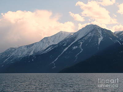 Photograph - Selkirk Mountains by Leone Lund