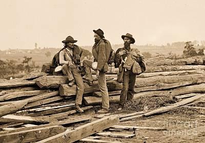 Photograph - Seminary Ridge by Pg Reproductions