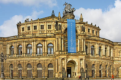 Photograph - Semper Opera House Dresden by Christine Till