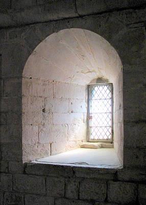 Provence Photograph - Senaque Abbey Arched Window by Carla Parris