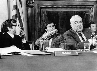 Senate Watergate Committee. Vice Art Print by Everett