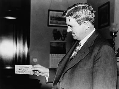 Senator Clarence C. Dill Of Washington Art Print by Everett