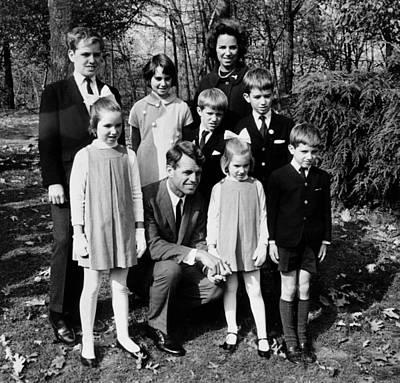 Senator-elect Robert Kennedy And Wife Art Print