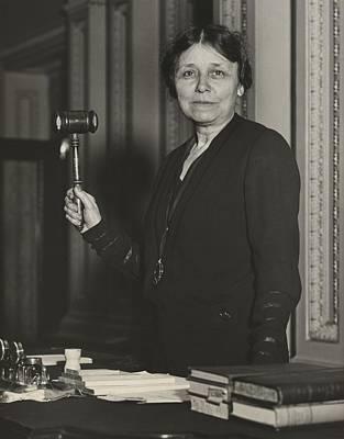 Senator Hattie W. Caraway, Democrat Art Print by Everett