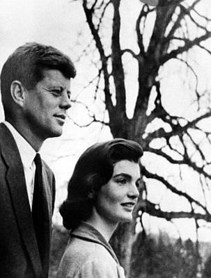 Senator John F. Kennedy, Jackie Art Print by Everett
