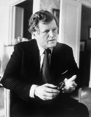 Ted Kennedy Photograph - Senator Ted Kennedy, Ca. 1980 by Everett