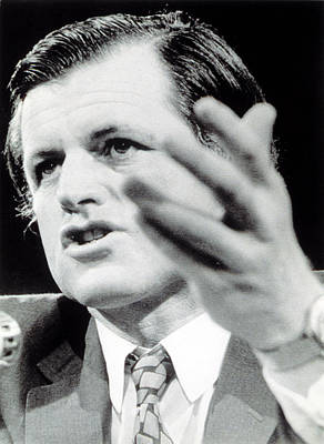 Ted Kennedy Photograph - Senator Ted Kennedy In 1973 by Everett