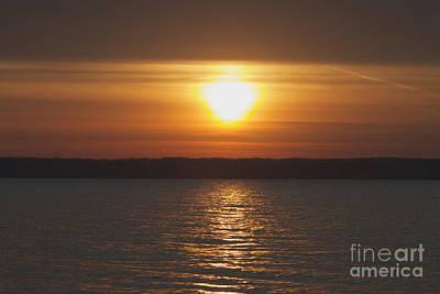 Photograph - Seneca Lake Sunrise by William Norton
