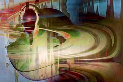 Sensing The Spheres Art Print by Linda Sannuti