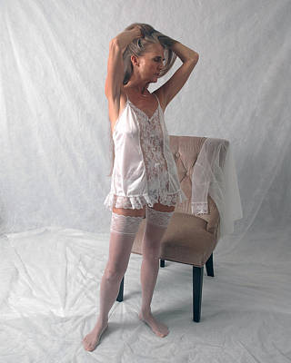 Photograph - Sensuality And Lace by Nancy Taylor