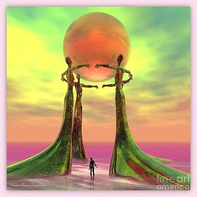 Digital Art - Sentinels II by Sandra Bauser Digital Art