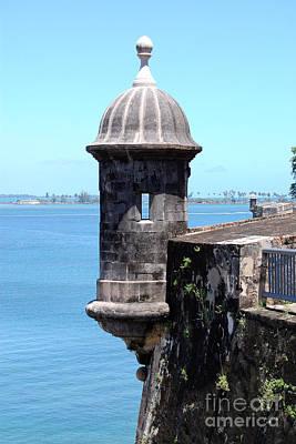 Sentry Tower Castillo San Felipe Del Morro Fortress San Juan Puerto Rico Art Print by Shawn O'Brien