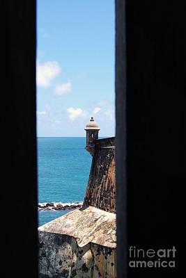 Photograph - Sentry Tower View Castillo San Felipe Del Morro San Juan Puerto Rico by Shawn O'Brien