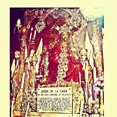 Icon Wall Art - Photograph - Señor De La Caida by Eric Herrera