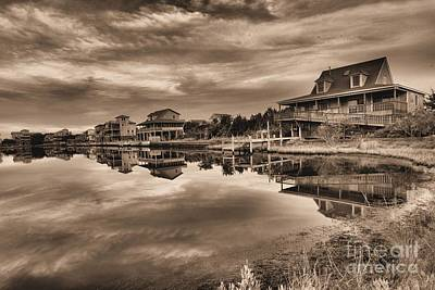Photograph - Sepia On The Sound by Adam Jewell