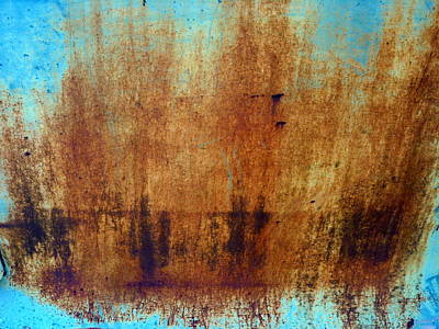 Photograph - Sepia Splashes Of Rust by Carla Parris