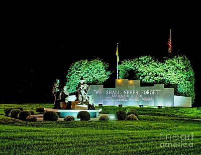 Photograph - September 11th Memorial Pennsuaken by Nick Zelinsky