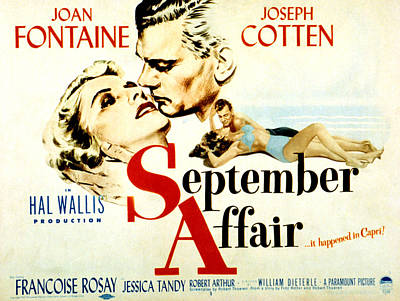 Fid Photograph - September Affair, Joan Fontaine, Joseph by Everett