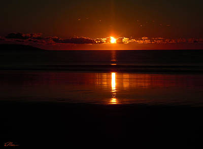 Photograph - September Sunrise In Maine by Nancy Griswold