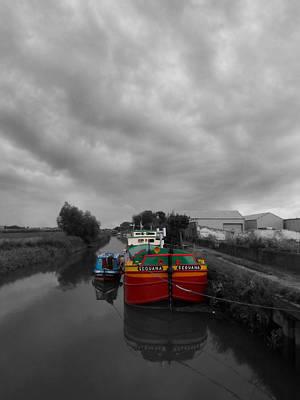 Sequana Beverley Canal Art Print