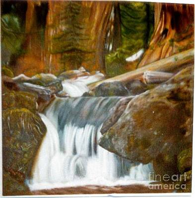 Painting - Sequoia National Park by Geri Jones