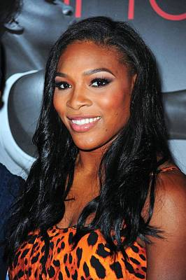Serena Williams Photograph - Serena Williams At Arrivals by Everett