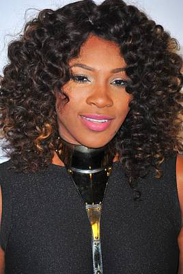 Serena Williams At Arrivals For Keep Art Print