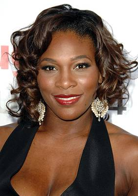 Serena Williams At Arrivals For The Art Print