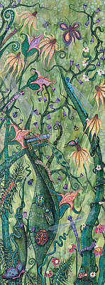 Grasshopper Painting - Serendipity by Tanielle Childers