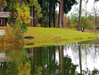 Photograph - Serene Scott Lake by Jeanette C Landstrom